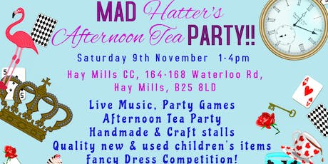 Children's Market, Craft Fair & Mad Hatter's Tea Party - Birmingham tickets