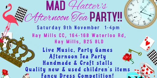 Children's Market, Craft Fair & Mad Hatter's Tea Party - Birmingham