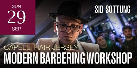 Jersey Modern Barbering workshop featuring Sid Sottung tickets