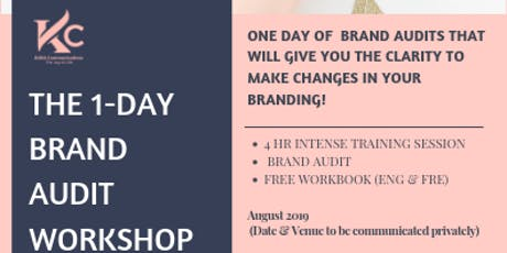 THE 1-DAY BRAND AUDIT WORKSHOP  tickets