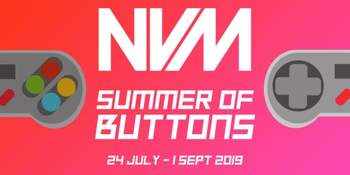 Summer of Buttons - National Videogame Museum Holiday Activities