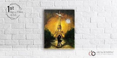 Sip & Paint Night: Golden Romantic Paris tickets