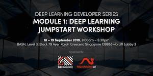 Deep Learning Jumpstart Workshop (18 – 19 September...