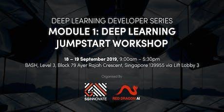 Deep Learning Jumpstart Workshop (18 – 19 September 2019) tickets