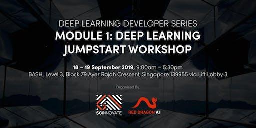 Deep Learning Jumpstart Workshop (18 – 19 September 2019)