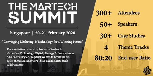 The MarTech Summit Singapore