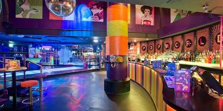 Groovy Wonderland 80's & 90's @ POPWORLD (Ex Reflex) Welcome Drink, dj, Dancing tickets