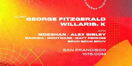 GEORGE FITZGERALD at 1015 FOLSOM tickets
