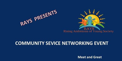 Community Service Networking Event