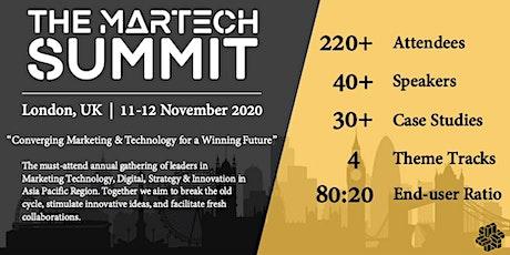 The MarTech Summit London tickets