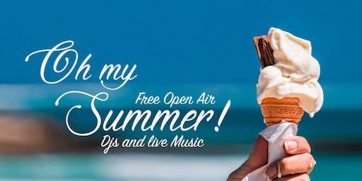 OH My Summer! - Open Air & Indoor / DJs & Live e-Piano Konzert