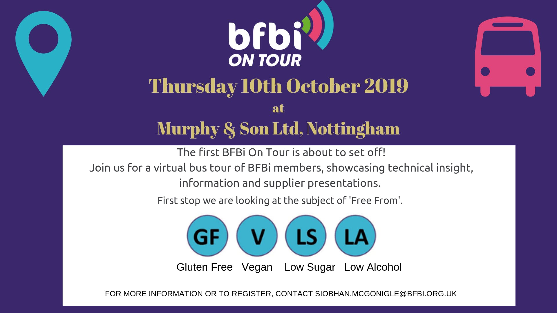 BFBi On Tour - 'Free From'