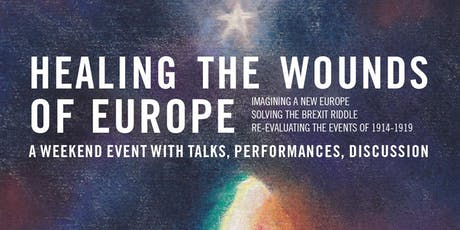 Healing the Wounds of Europe tickets