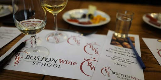 Wine 101:  How to Taste Wine and Why (Class + Dinner) | Boston Wine School @ VINOvations