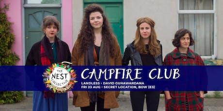Campfire Club: Landless | David Gunawardana tickets