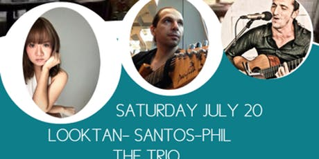 THE TRIO LOOKTAN-SANTOS-PHIL AT THE CHOCOLATE FACTORY PATTAYA  tickets