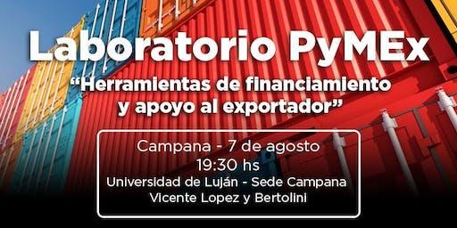 Laboratorio PyMEx - Herramientas de financiamiento y apoyo al exportador