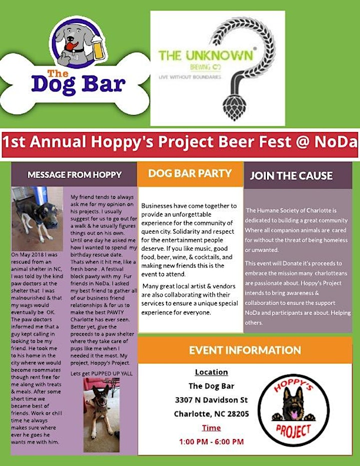 Hoppy's Project: 1st Annual Beer Fest image