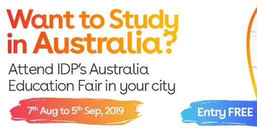 Apply to Australian universities at IDP's Free Australia Education Fair in Amritsar– 7 Aug 2019 to 5 Sept 2019