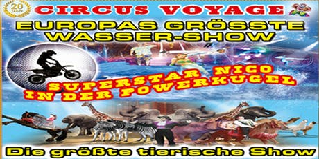 Circus Voyage Familienvorstellungen in Plau am See 2019  Tickets