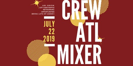 CREW July 2019 Prospective Members Mixer tickets