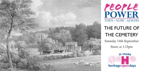 Heritage Open Day - The Future of the Cemetery - Sat 14th Sept - 1.15pm tickets