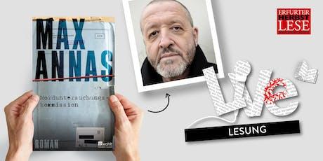 LESUNG: Max Annas Tickets