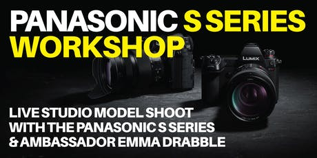 Panasonic S-Series Studio Workshop with Emma Drabble tickets