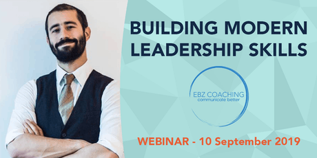 Building Modern Leadership Skills - Webinar tickets