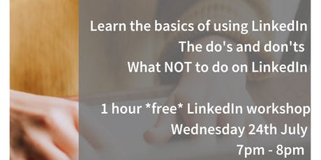 LinkedIn Workshop | Fermoy Library | Wednesday 24th July  tickets