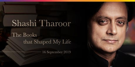Shashi Tharoor: The Books that Shaped My Life tickets