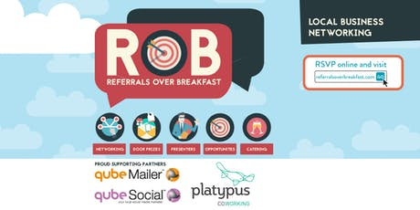Ballarat - Referrals over Breakfast (RoB) tickets