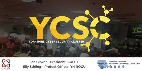 Yorkshire Cyber Security Cluster Meeting tickets