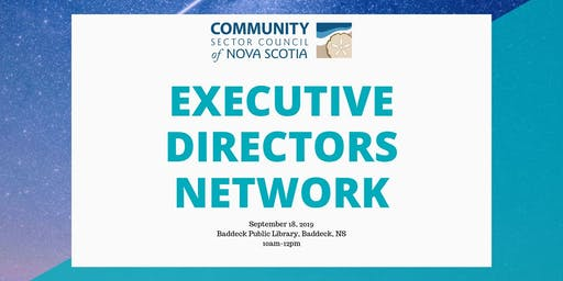 Executive Directors Network-Baddeck