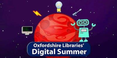 Bicester Library: Digital Summer Making