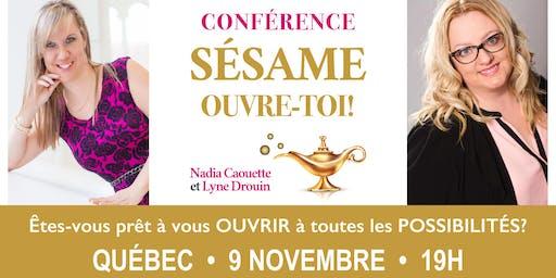 Conférence: S'ouvrir à toutes les possibilités! - Québec