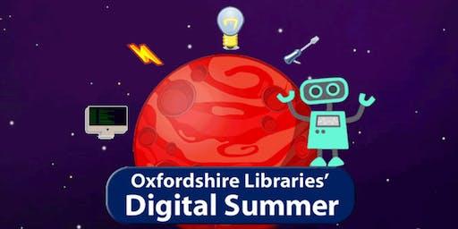 Burford Library: Digital Summer Making
