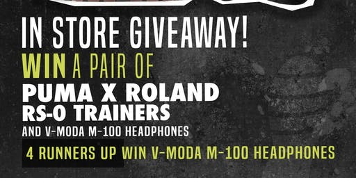 Roland Store Launch Day!