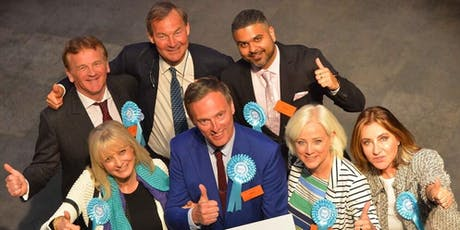 Brexit Party Staffordshire - Meet Martin Daubney MEP tickets