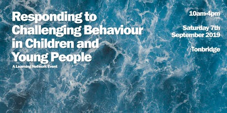 Responding to Challenging Behaviour in Children and Young People tickets