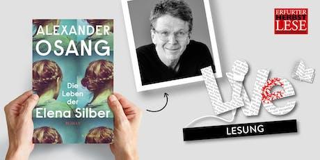 LESUNG: Alexander Osang Tickets