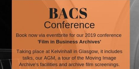 Film in Business Archives - BACS Conference 2019 tickets