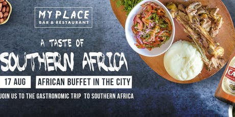 Southern African Buffet in the heart of Perth City tickets
