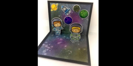 Space Chase Pop Up Card Making@Leytonstone Library Plus tickets