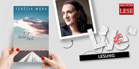 LESUNG: Terézia Mora Tickets