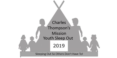 Charles Thompson's Mission Youth Sleep Out 2019 tickets