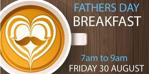 Twilight School Fathers Day breakfast