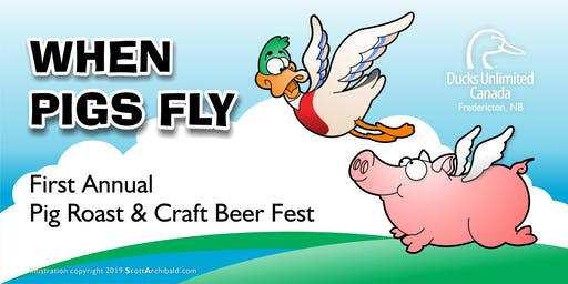 When Pigs Fly - DUC First Annual Pig Roast & Craft Beer Fest