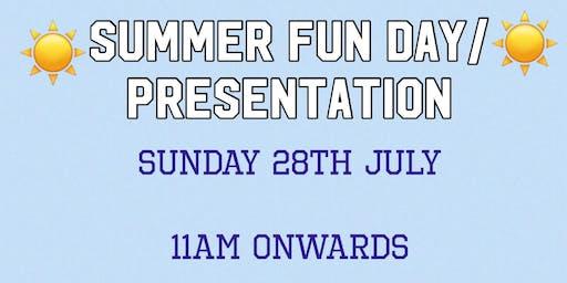 Summer Fun Day/ Colts Presentation