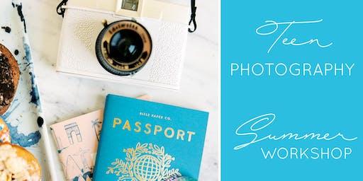 Teen Photography Summer Workshop